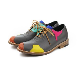 Grey Duke Encounter Macaroon M1087A  Oxford shoes
