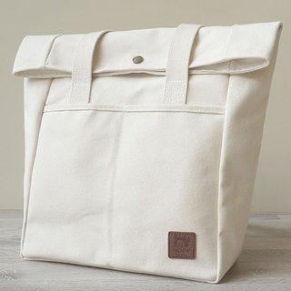 No-print style return tote bag - Japanese high pound number wine bag canvas