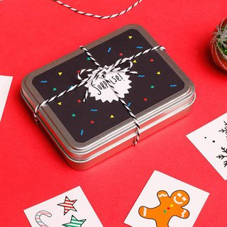 Surprise Tattoos / childhood memories tattoo sticker gift box 10 models