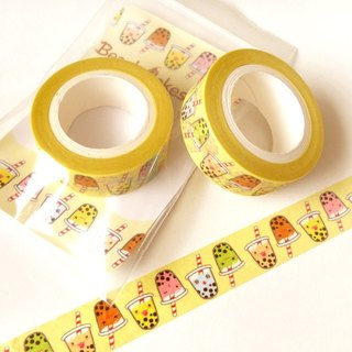 Cute Bubble Tea Washi Tape: Kawaii Washi Tape, Scrapbook Decoration, Kawaii Tape