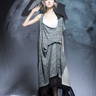 moi non plus monthly partial solar eclipse dress stitching
