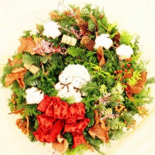 A01504000 hand-made classical Christmas wreath