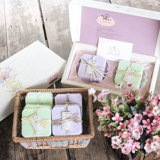 Spent good moon handmade soap gift box
