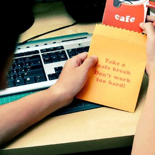 Fun digital products -Take a cafe break