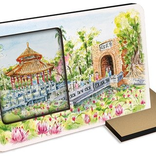 Taiwan's top ten tourist attractions ~ Tainan billion set Jincheng ~ 30 seconds sound and light recording card postcard photo frames photos attractions monuments souvenirs