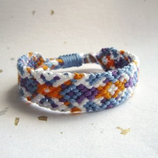 Dream catching lucky rope woven bracelet (optional color)