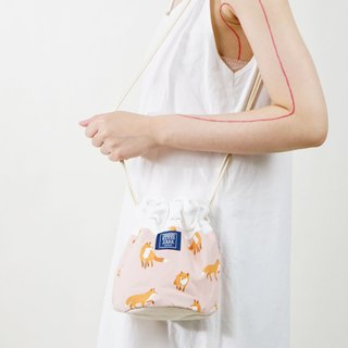 ::Bangstree:: Shoulder Bucket Bag -fox