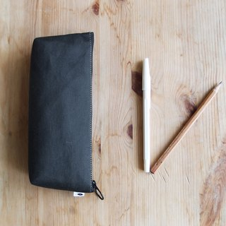 Black Pencil Case(Wide Bottom)