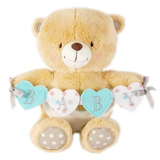 6/Hepatic Baby Fluffy Bear [Hallmark-ForeverFriends Plush-Hug Series]