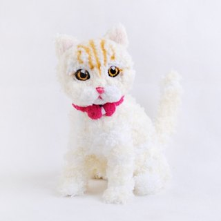 15cm pet cloned [feiwa Fei handmade baby 2 color cream pet cat doll (welcome to build your cat)
