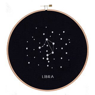 Embroidery hoop: LIBRA (wooden embroidery frame embroidery hoop Libra).