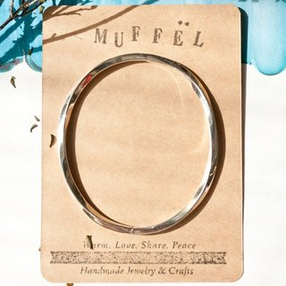 MUFFëL 925 Silver Silver Series - Simple Twist Bracelet 3mm