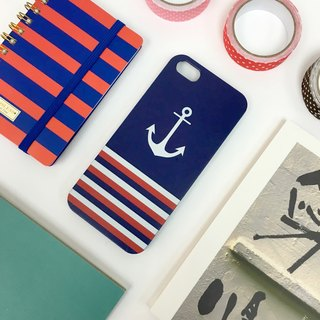 Sailor Blue Print Soft / Hard Case for iPhone X,  iPhone 8,  iPhone 8 Plus, iPhone 7 case, iPhone 7 Plus case, iPhone 6/6S, iPhone 6/6S Plus, Samsung Galaxy Note 7 case, Note 5 case, S7 Edge case, S7 case