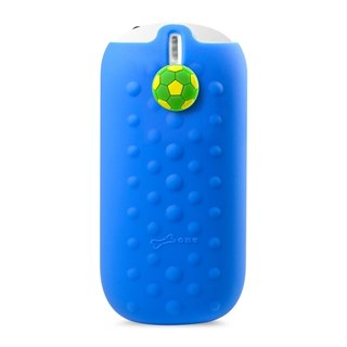 Bone / funny button action Power 5200mAh- Football - Blue