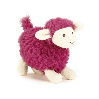 Jellycat Sugar Sheep 小羊妹 12cm (Pink色)