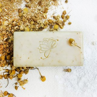 Chamomile milk soap │ Chulu milk hazelnut oil fragrance-free moisturizing