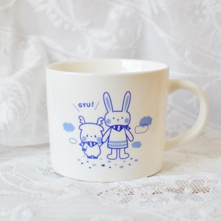 "] [Transnational cooperation joint commemorative limited edition models in Japan, ""holding hands wide mouth mug"" ★ universal gift of choice (branding deals in)"
