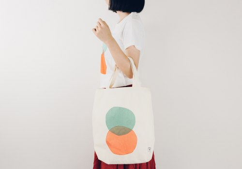 INNER | Peibu round intersection portable shoulder bag