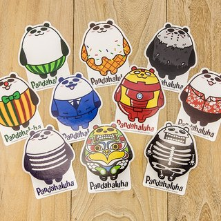 Pandahaluha Sticker Set