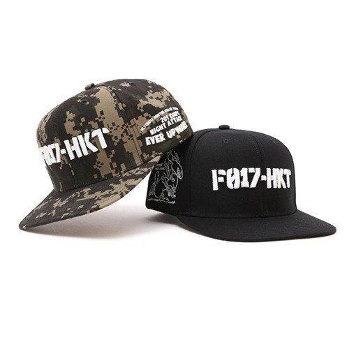 Filter017 - Baseball Cap - HKT Collection Embroidery Logo Snapback Cap Embroidered font button-back baseball cap