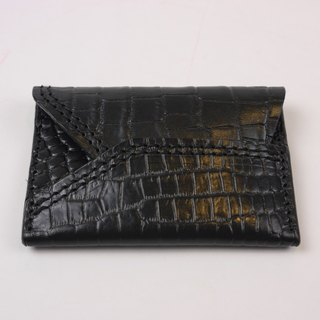 [YuYu] supermodel Zhang Jia Yu own brand -Card Case crocodile embossed section