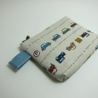 Cotton retro car car purse