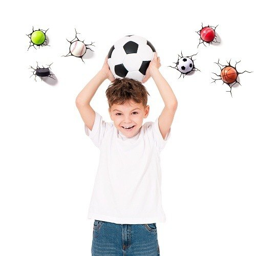 3D Light FX - Sport Series Super Mini Soccer / Basketball