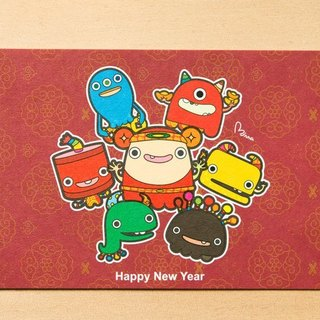 Small Nian Spring Festival ● Postcards