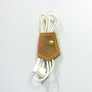 [Workshop] ANITA hand-made hand texture modeling tie Crazy Horse leather small hub - Special