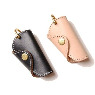 Leather Key Bag (Small) - Threefold Key Bag (Small)