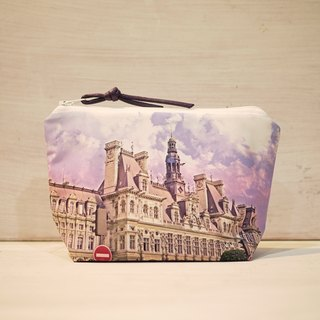 [Travel] Dumpling-type cosmetic bag [City Hall]