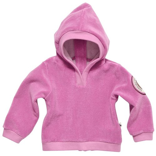 [Design] Nordic organic cotton infant hoodie pink (for 6M-3Y) Shampoodle Kids