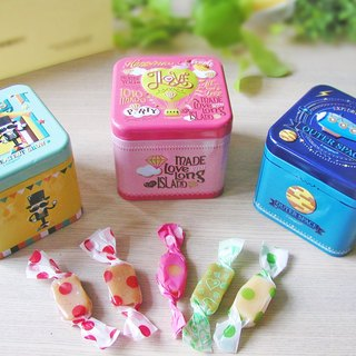 [Hong Kong and Macao Free transport] [each child to find honey Fantasy Box] (A). A group 3 metal, 3 flavors of milk sugar.