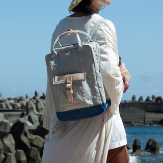 【 ZeZe Bag Small】DYDASH x 3way hand bag/shoulder bag/backpack/(Small Blue Pop Rocks)