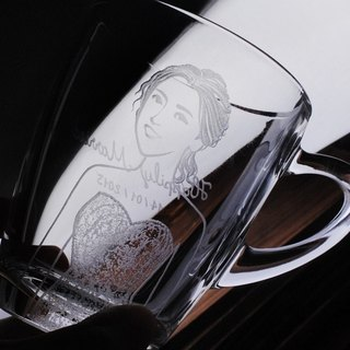 320cc (one pair price) [MSA] married portrait wedding portrait of cup mug cup wedding wedding gift for small objects customized