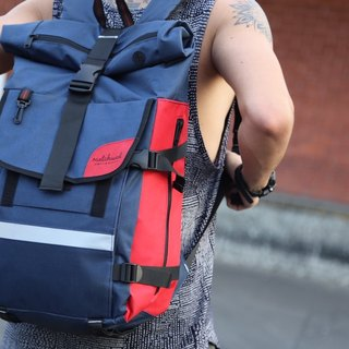 Matchwood Wood Design Matchwood Rider Waterproof Notebook Backpack 17 电 电 Interlayer Blue Red Limit Color
