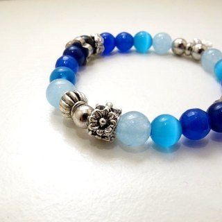 Blue morning ore bracelet
