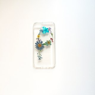 P for Perle:: initial pressed flower phonecase Niagara