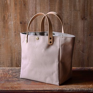 Simple tote bag, washed iron ash 26 30 10