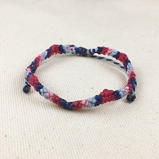 A0013 silk wax braided bracelet
