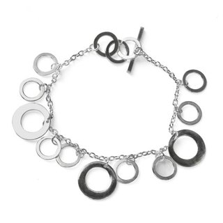 Dream Bubble silver bracelet