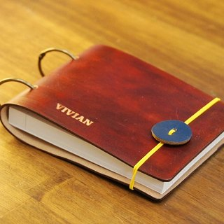 Personal data card holder leather