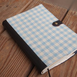 Mashup Graffiti Notebook - Blue Plaid / PDA