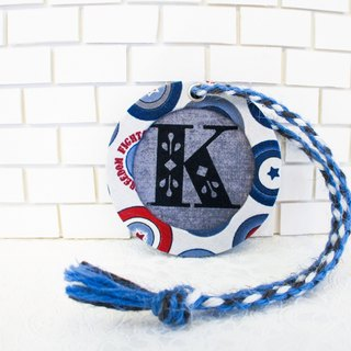 """Captain America"" ​​light travel ♥ handmade round logo customized limited edition"