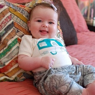 [Nordic children's clothing] infant organic cotton pants