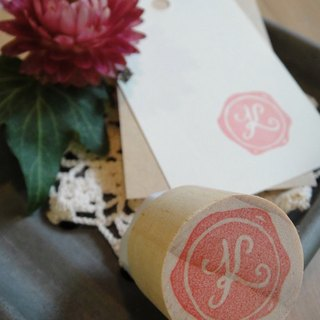 Hand-made rubber stamp - wax seal chapter (resolution 1 K)