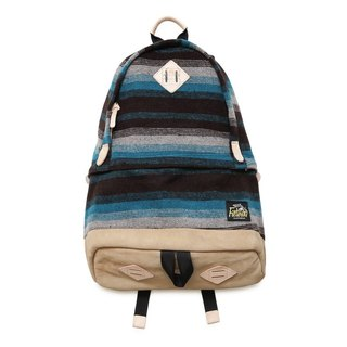 Filter017 Freely Daypack - Horizontal Stripe Wool Fabric 毛料橫紋後背包