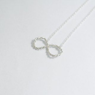 [Christmas (exchange gifts)] [Tanabata Valentine's Day] unlimited 2way sterling silver necklace