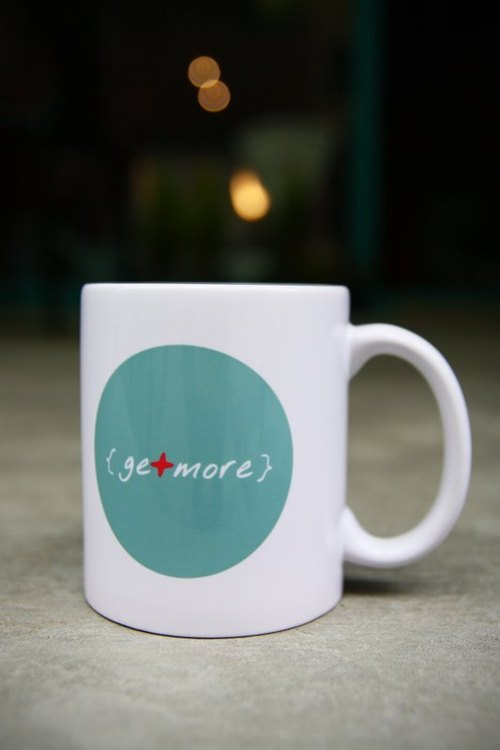 getmore mug minimalist subsection (round cup)
