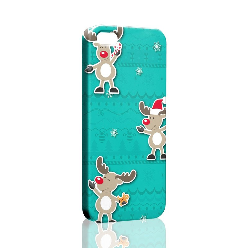 The Christmas fawn pattern Samsung S5 S6 S7 note4 note5 iPhone 5 5s 6 6s 6 plus 7 7 plus ASUS HTC m9 Sony LG g4 g5 v10 phone shell mobile phone sets phone shell phonecase